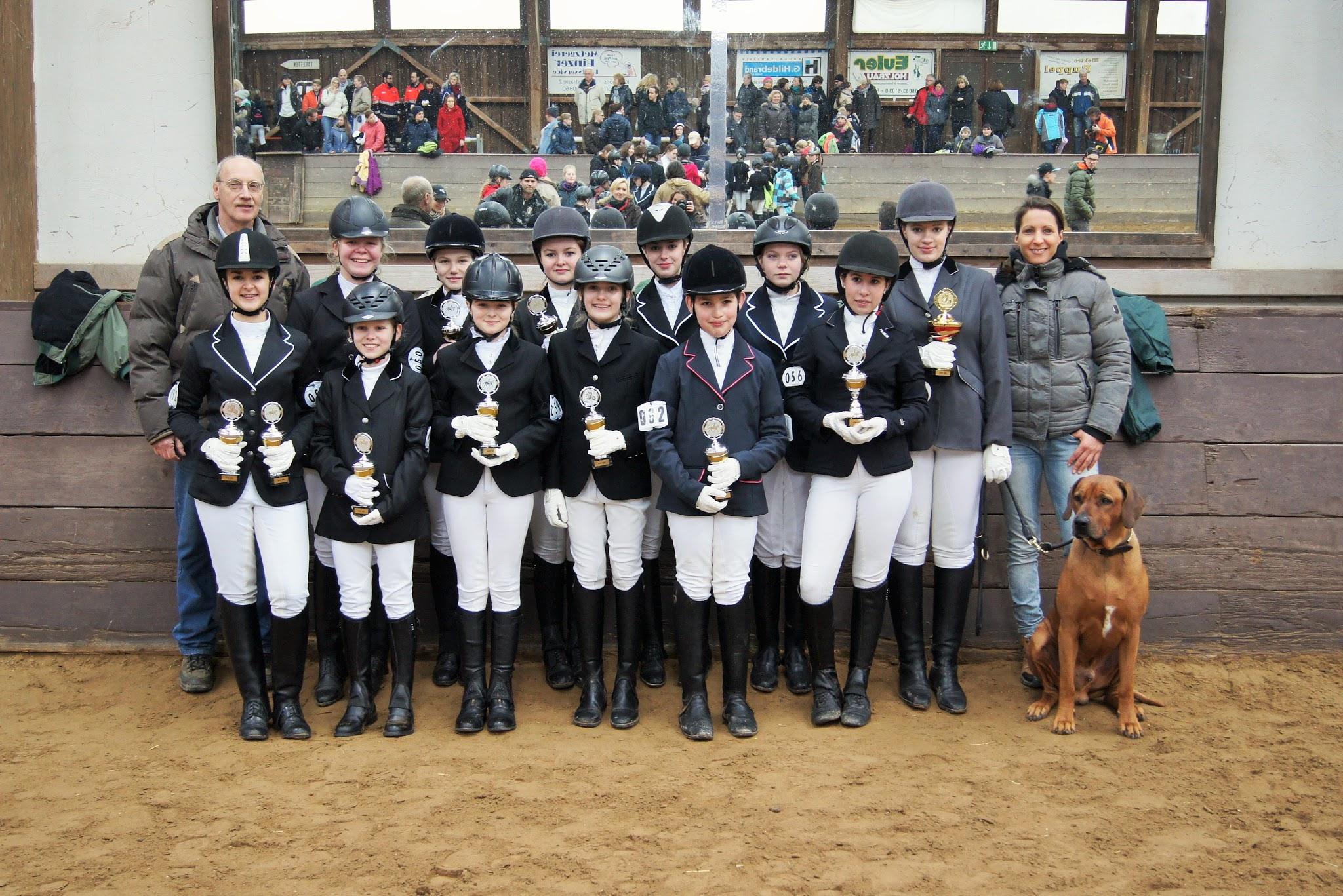 2. WJW in Butzbach: RSG hält Platz 1 bei den Fortgeschrittenen