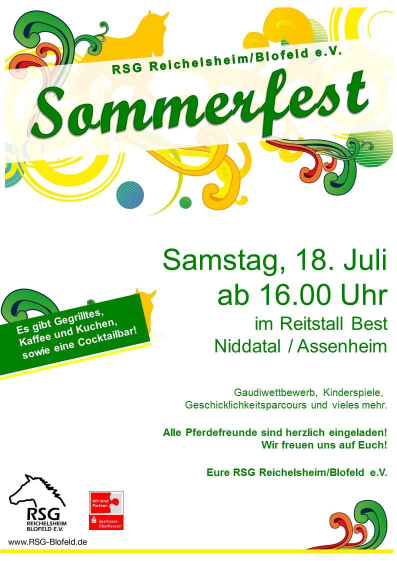 RSG Sommerfest am 18.07.