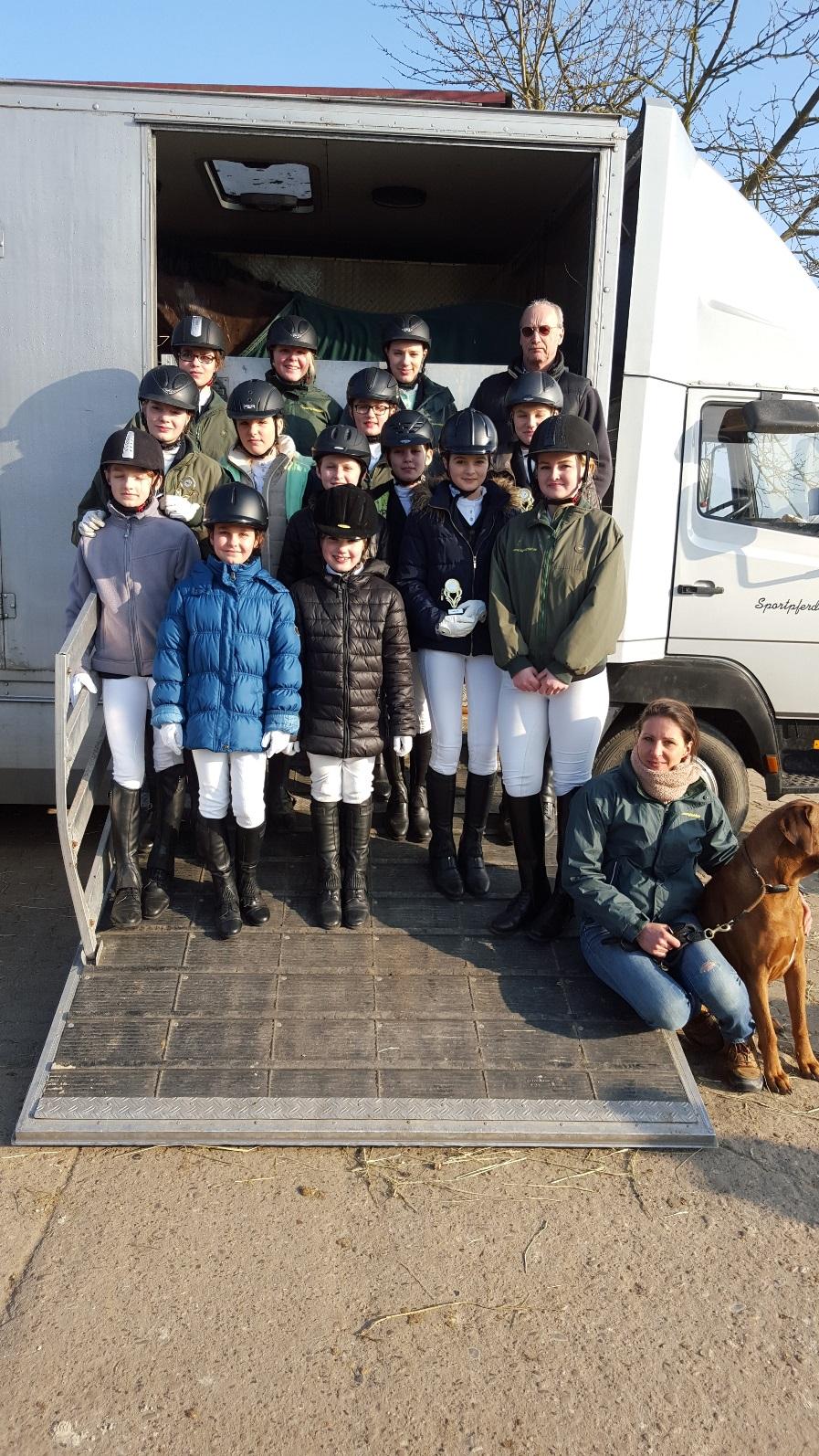 RSG auf Platz 3 und 5 beim Winter-Jugend-Wettbewerb 2016