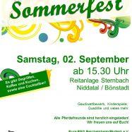 Sommerfest am 02.09.17